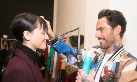 HAIR DESIGN MOROCCANOIL BY ANTONIO CORRAL CALERO PER VIVIENNE TAM FALL/WINTER 2018 SHOW ALLA NY FASHION WEEK