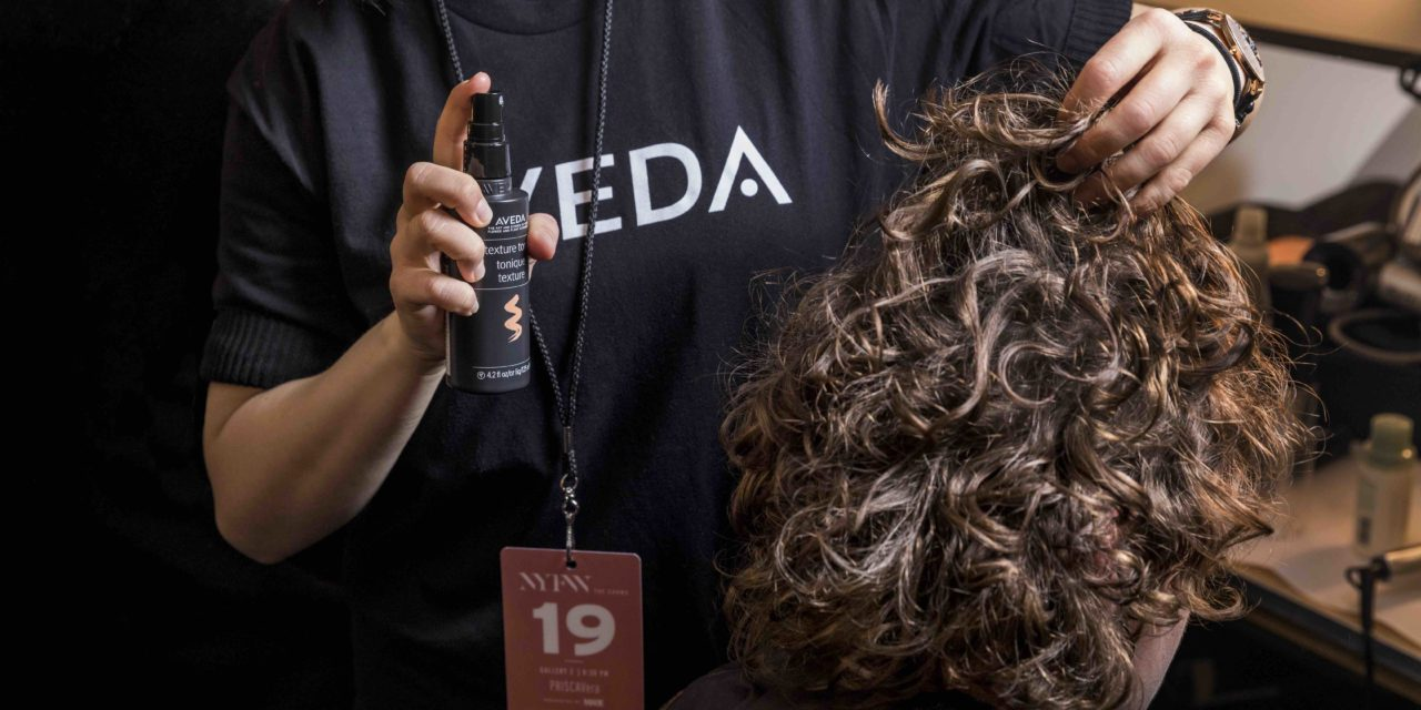 DALLE PASSERELLE DELLA NEW YORK FASHION WEEK: L'AVEDA ARTIST FRANK RIZZIERI PER TIBI FALL/WINTER 2018