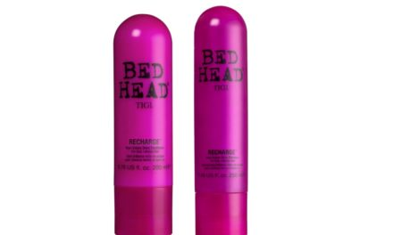 """RECHARGE YOUR HAIR"" IN VISTA DELLA PRIMAVERA CON BED HEAD BY TIGI"