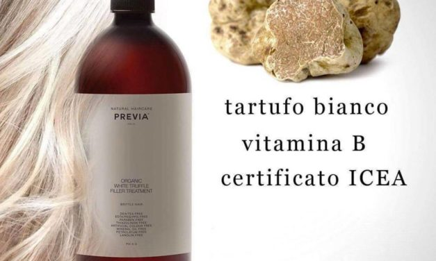 ORGANIC WHITE TRUFFLE FILLER TREATMENT DI PREVIA NATURAL HAIRCARE, LA NATURA TRA I CAPELLI