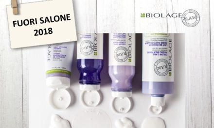 BIOLAGE R.A.W. AL FUORI SALONE 2018