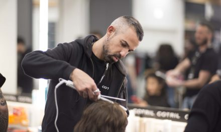 COTRIL FIRMA L'HAIRSTYLING DEL CALZEDONIA SUMMER SHOW
