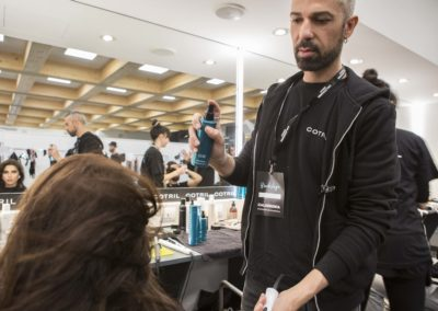 Hair Cotril per Calzedonia Summer Show_Giovanni Iovino in Backstage