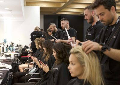Hair Cotril per Calzedonia Summer Show_backstage 3
