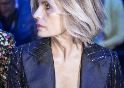 Hair Cotril per Isabella Ferrari al Calzedonia Summer Show