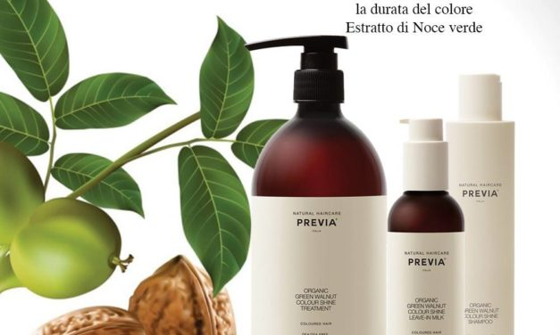 COLORE BRILLANTE A LUNGA DURATA CON LA LINEA KEEPING DI PREVIA NATURAL HAIRCARE