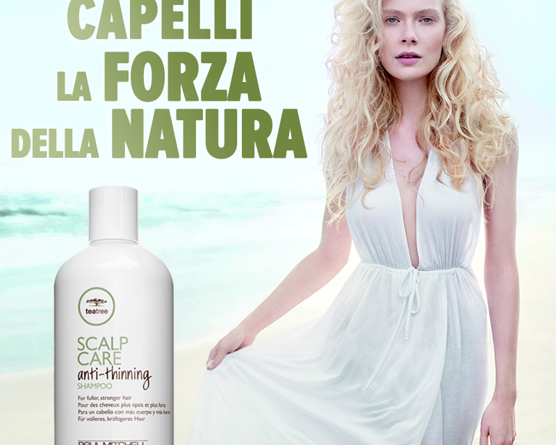 SCALP CARE DI PAUL MITCHELL, PER CAPELLI PIÙ FORTI E SANI!