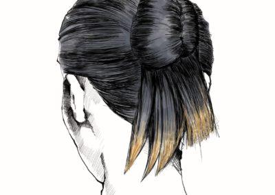 L'Oréal Professionnel _ look Hair Fashion Night _ Modern Bun