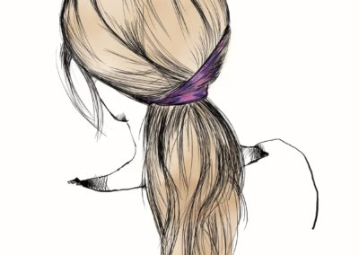 L'Oréal Professionnel _ look Hair Fashion Night _ Chic Ponytail