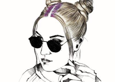 L'Oréal Professionnel _ look Hair Fashion Night _ Double Bun