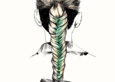 L'Oréal Professionnel _ look Hair Fashion Night _ Fish Tale