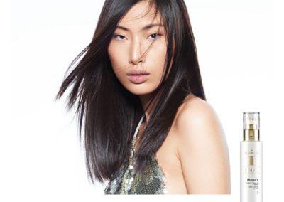 capelli lisci con Idol Perfect di Medavita