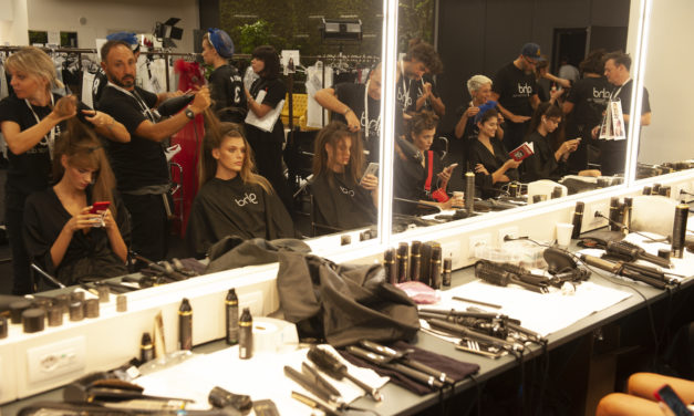 GLI HAIRLOOK FIRMATI GHD PER INTIMISSIMI SHOW ENCHANTED FOREST 2018