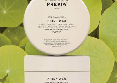 La cera Shine Wax di Previa