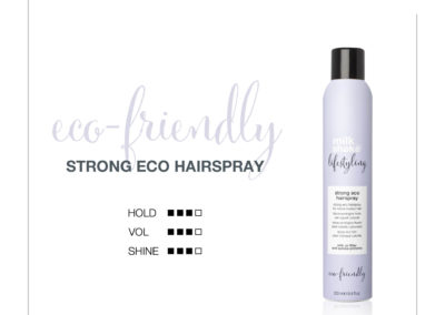 Lifestyling STRONG ECO HAIRSPRAY