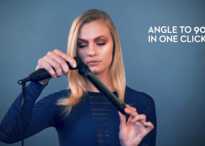 NEURO® ANGLE ROD CURLING IRON