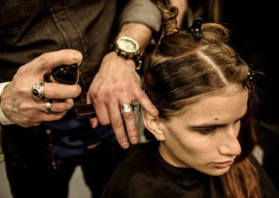 ghd per Moschino_ backstage