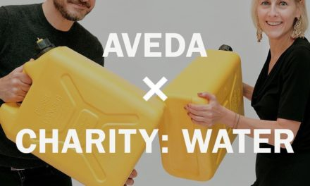 AVEDA ANNUNCIA LA PARTNERSHIP CON CHARITY: WATER
