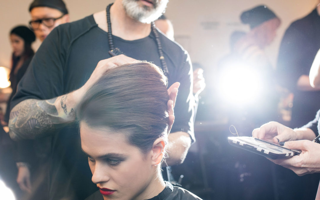 AVEDA PER CHIARA BONI ALLA NEW YORK FASHION WEEK