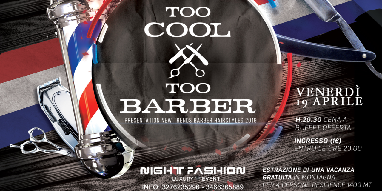 MILANO, 19 APRILE: TOO COOL TO BARBER!