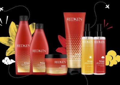REDKEN NEW FRIZZ DISMISS