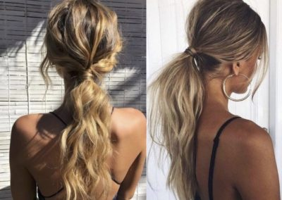 Low Pony Tail @pinterest