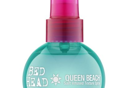 Queen Beach Salt Infused Texture Spray di Tigi