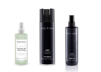 I prodotti Cotril per il beauty look dell'attrice