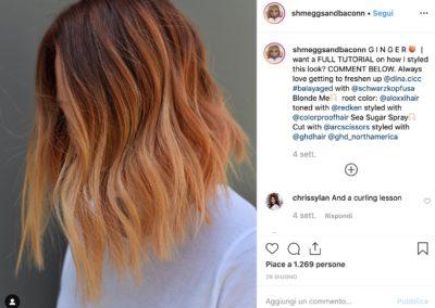 Ginger Peach Hair