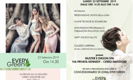 23 SETTEMBRE: PORTE APERTE IN EVERYGREEN