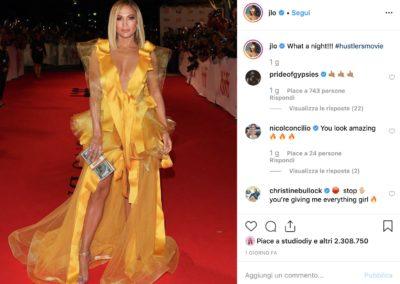 Il nuovo look di Jennifer Lopez