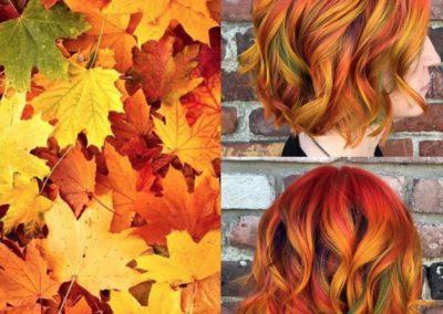 Foliage tra i capelli @ashleylargey