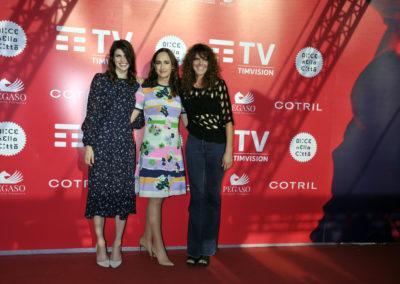 Alexandra Daddario, Sophie Kinsella e Elise Duran