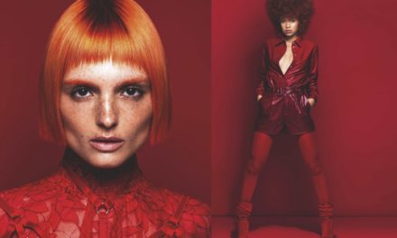 "SCHWARZKOPF PROFESSIONAL PRESENTA "" RUBY COLLECTION "" DI RAINBOW ROOM INTERNATIONAL"