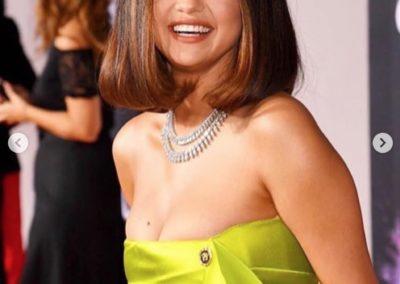 Il long bob di Selena Gomez @selenagomez