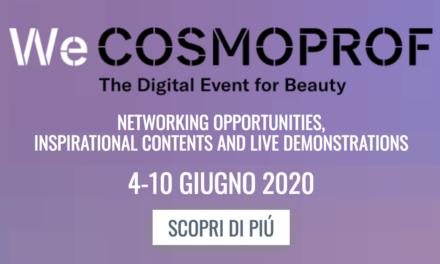 Cosmoprof sposta definitivamente l'edizione 2020 al 2021 e crea un nuovo format digitale