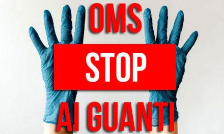 I guanti sono pericolosi contro il coronavirus secondo OMS
