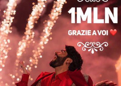 Federico ha raggiunto un milione di followers