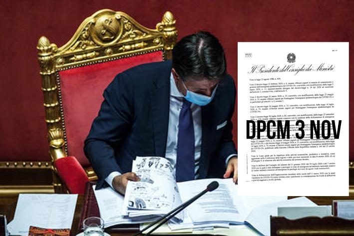Nuovo Dpcm 3 novembre, il testo integrale: barbieri e parrucchieri aperti anche nelle zone rosse.