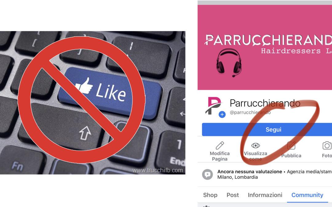 Facebook abbandona il tasto LIKE sulle pagine