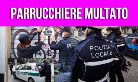 MULTATO IL PARRUCCHIERE SENZA DIRETTORE TECNICO!