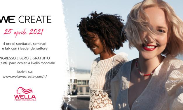We Create – Il primo evento digitale globale di Wella Company
