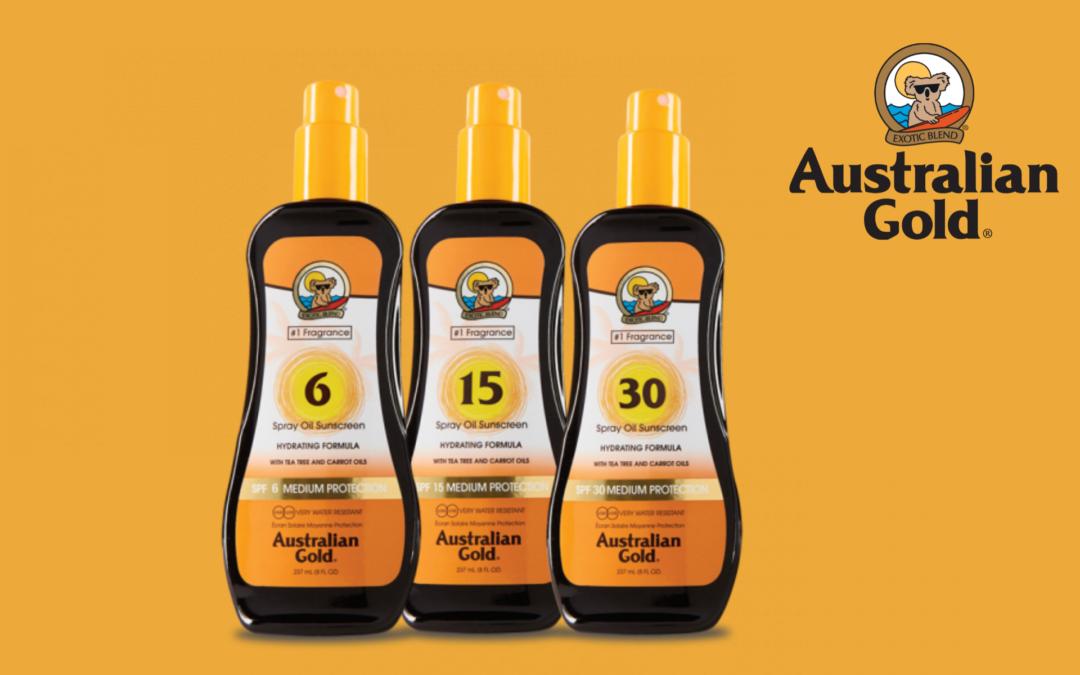 AUSTRALIAN GOLD: SPF SPRAY OIL 6, 15, 30  PROTEZIONE CAPELLI, VISO E CORPO