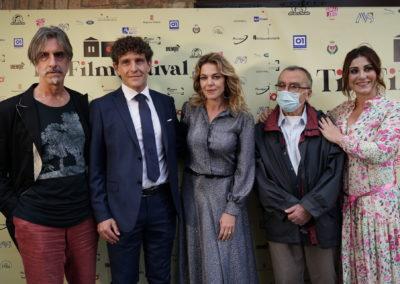 Fabio Lovino, Andrea Capponi, Claudia Gerini, Nando Cacciamani e Manuela Cacciamani