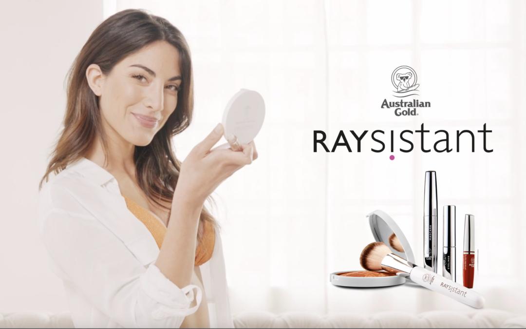RAYSISTANT ® : MAKE UP SOLARE AUSTRALIAN GOLD